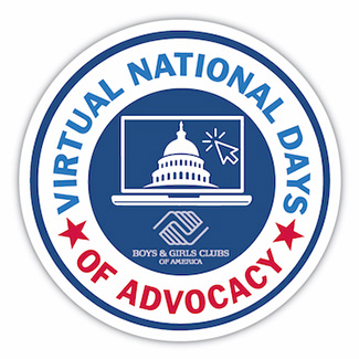 Virtual National Days of Advocacy logo